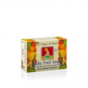 Sapone Naturale Baby Fruit Zucchero Filato Bio