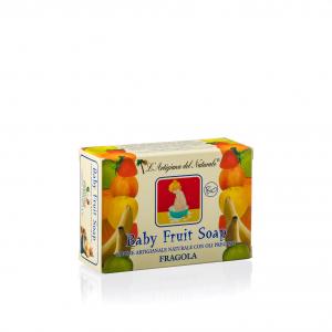 Sapone Naturale Baby Fruit Fragola Bio