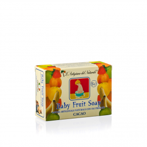 Sapone Naturale Baby Fruit Cacao Bio