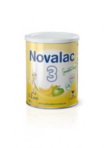 NOVALAC 3 - LATTE IN POLVERE CRESCITA MELA/BANANA