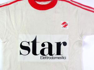 1986-87 Vis Pesaro Maglia Home #8 Match worn