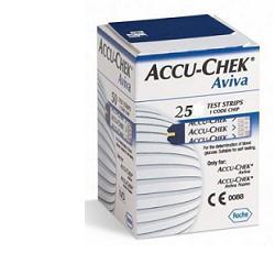 ACCU - CHEK AVIVA STRISCIE REATTIVE PER IL CONTROLLO DELLA GLICEMIA