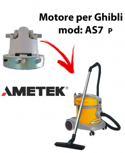motor de aspiración Ametek para aspiradora GHIBLI, Model ASL7 P