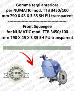 Bavette avant pour autolaveuses NUMATIC mod. TTB 3450/100
