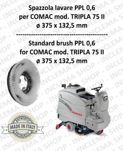 TRIPLA 75 II Standard Bürsten für Scheuersaugmaschinen COMAC
