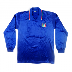 1986-87 Italia Maglia Home #21 Match worn (Top)