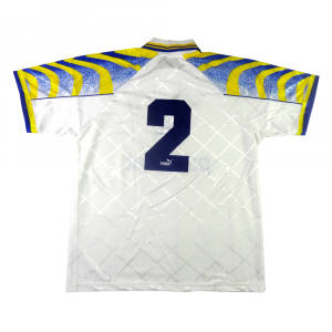 1995-96 Parma Maglia Home #2 Apolloni Match Issue (Top)