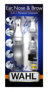 Wahl Home Products - Ear, Nose & Brow - Wet/Dry 3-in-1 Personal Trimmer