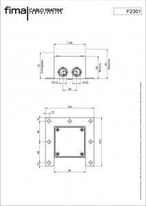 CORPO DA INCASSO F2301