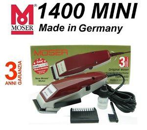 Moser - Taglia Capelli Professionale a Filo - 1400 Mini