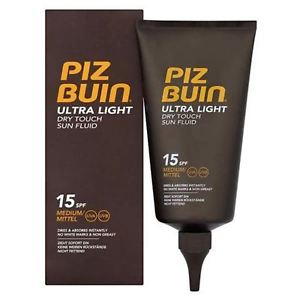 Piz Buin Ultra Light Dry Touch Sun Fluid SPF 15 150 ML