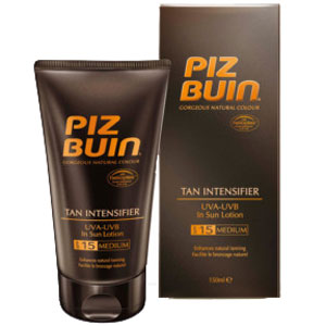 Piz Buin Tan Intensifier In Sun Lotion: SPF15