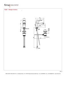 MISCELATORE LAVABO SERIE 2 - F3201
