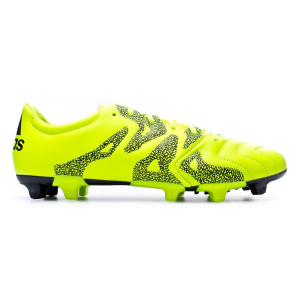 Scarpa calcio X 15.3 FG/AG Leather Giallo/Nero