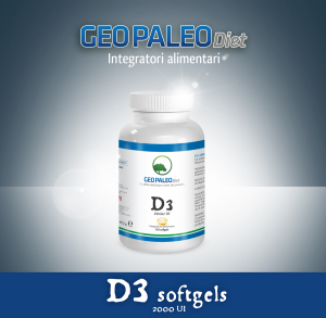 OFFERTA 26+4 Vitamina D3 Alto Dosaggio 2000 UI in capsule softgel con Olio di Oliva