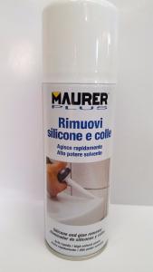 RIMUOVI SILICONE E COLLE SPRAY MAURER 200 ml