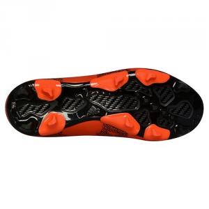 Scarpa calcio X 15.3 FG/AG J Leather Arancione/Nero