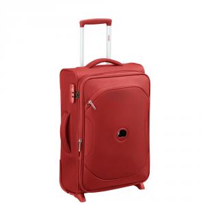 Delsey - Ulite Classic 2 - Trolley universale da cabina slim e espandibile 55 cm morbido TSA rosso cod. 3246724