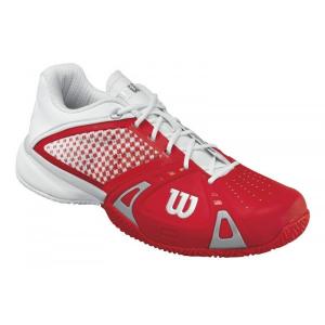 Scarpa tennis WILSON RUSH PRO CC Rosso/Bianco/Silver