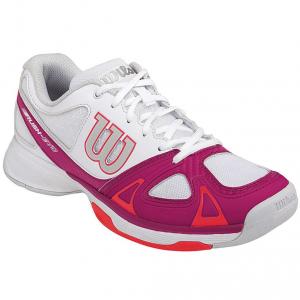 Scarpa tennis WILSON RUSH EVO W Bianco/Fucsia/Pink fluo