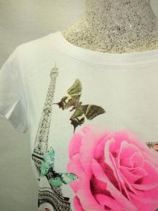 T-Shirt sportiva con stampa