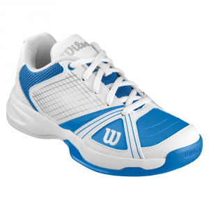 Scarpa tennis WILSON RUSH NGX JR Bianco/Azzurro