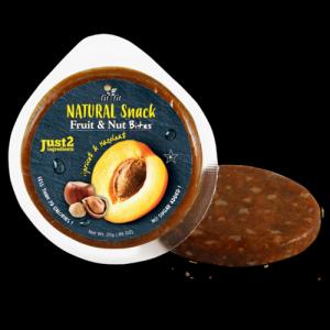NUOVO SNACK - Monoporzione di Albicocca e Nocciola - Senza zuccheri e conservanti!