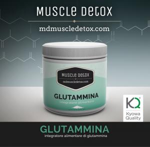 SCORTA 10 pezzi Glutammina KYOWA QUALITY - Impedisce il Catabolismo Muscolare e Stimola l' Ormone della Crescita