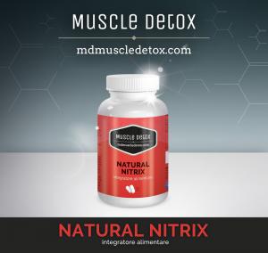 SCORTA 10 pezzi MD Natural Nitrix: Ottimizza il sonno, Recupero Muscolare e Vasodilatazione delle arterie