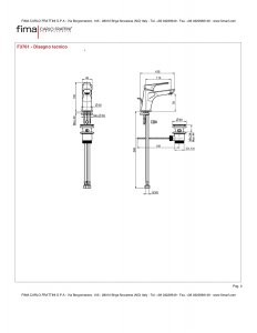 MISCELATORE LAVABO SERIE 4 - F3761