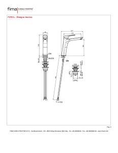 MISCELATORE LAVABO SERIE 4 - F3761L