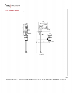 MISCELATORE BIDET SERIE 4 - F3762