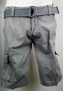 Bermuda uomo tasche laterali con cinta