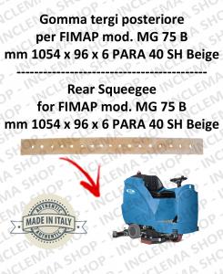 MG 75 B GOMMA TERGI posteriore per lavapavimenti FIMAP