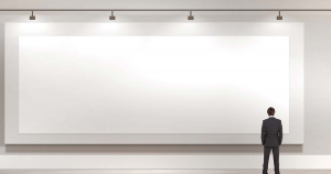 Tele 200x500 cm Gallery per dipingere - Tele per Pittura - profilo 4 cm Bianche grandi dimensioni