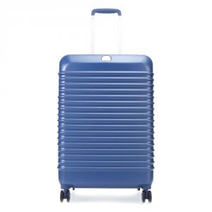 Delsey - Bastille Frame - Trolley medio 65 cm 4 ruote TSA rigido blu cod. 2075810