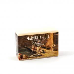 Sapone solido Marsiglia 4 Oli - 300gr
