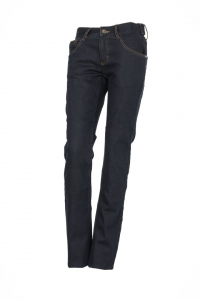 Jeans donna Esquad Silva con inserti in fibra Aramidica blu