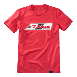 T-shirt Dainese72 SPEED-LEATHER Rosso
