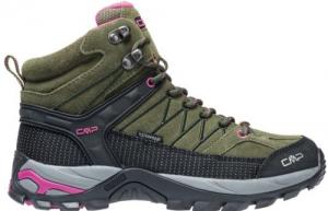 Scarpa trekking CMP RIGEL MID WMN Olive-Hot Pink