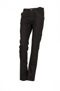 Jeans donna Esquad Silva con inserti in fibra Aramidica nero