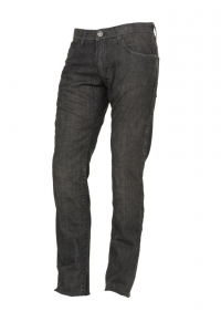 Jeans Esquad Milo con inserti in fibra Aramidica grigio idrorepellente
