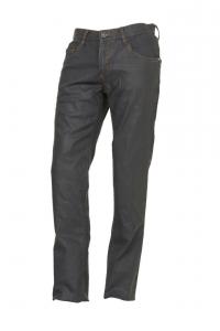 Jeans Esquad Milo con inserti in Kevlar grigio olio