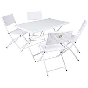 Tavolo+4 sedie enrico coveri