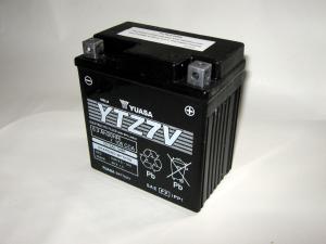 BATTERIA YUASA YTZ 7-V  per MOTO e SCOOTER  12V  6,3 Ah  CCA105A