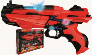 PISTOLA CON LUCI SOFT BULLET GUN 9930 VILLA