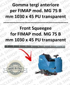 MG 75 B goma de secado delantera para fregadora FIMAP