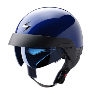 Casco jet Scorpion EXO 100 Blu