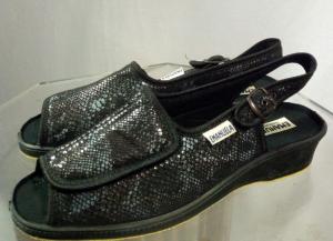 Sandalo donna in stoffa