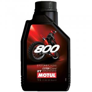 OLIO MISCELA MOTUL 800 2 TEMPI OFF ROAD - 100% SINTETICO FACTORY LINE